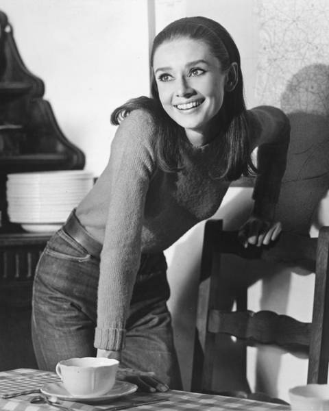 Actor Wall Art - Photograph - Audrey Hepburn by Silver Screen