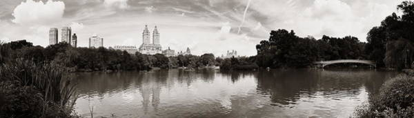 Wall Art - Photograph - Central Park Spring by Songquan Deng