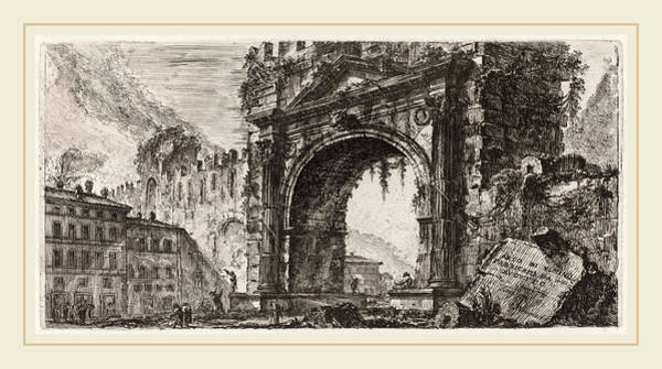 Wall Art - Drawing - Giovanni Battista Piranesi Italian, 1720-1778 by Litz Collection