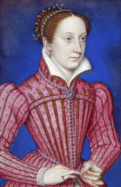 Wall Art - Painting - Mary, Queen Of Scots (1542-1587) by Granger