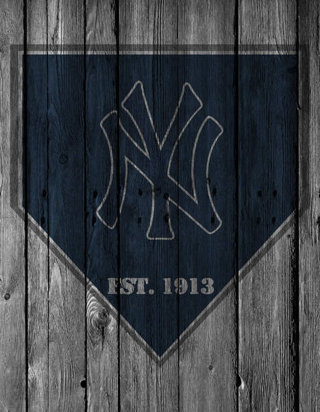 Grass Photograph - New York Yankees by Joe Hamilton
