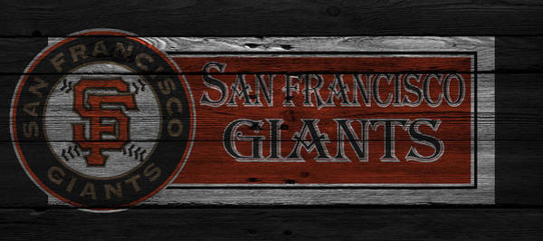 Giant Photograph - San Francisco Giants by Joe Hamilton