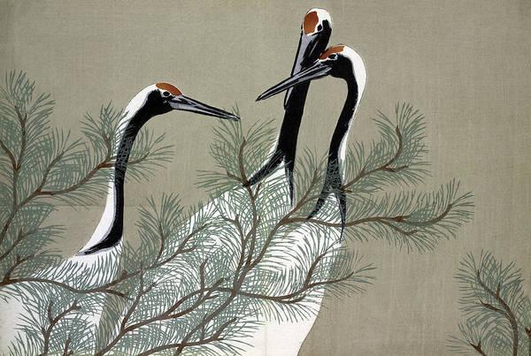 Pine Needles Painting - Sekka Momoyogusa, 1909 by Granger