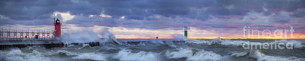 South Haven Wall Art - Photograph - Storms At South Haven by Twenty Two North Photography