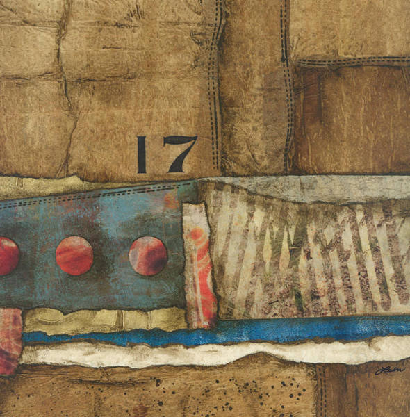 Abstract Mixed Media - 17 Straights In The River by Laura  Lein-Svencner