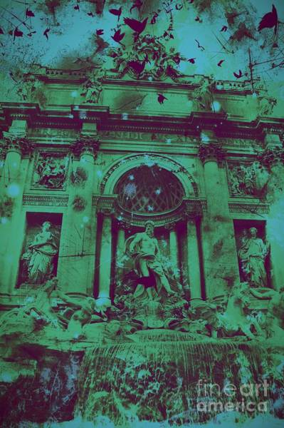 Trevi Fountain Digital Art - Trevi Fountain by Marina McLain