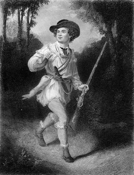 Sharpshooter Wall Art - Painting - 1700s 1770s A Morgans Rifleman Wearing by Vintage Images