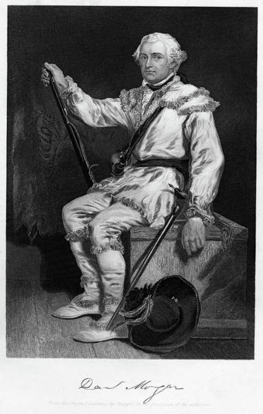 Camera Painting - 1700s 1770s General Daniel Morgan by Vintage Images