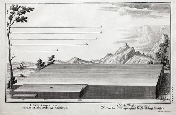 Noahs Ark Wall Art - Photograph - 1731 Cubit Measurement Scale Noah's Ark by Paul D Stewart