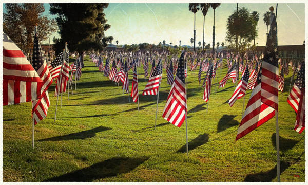 Photograph - 1776 Flags by Glenn McCarthy Art and Photography