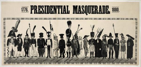 Wall Art - Photograph - 1776  Presidential Masquerade  1880 by Daniel Hagerman