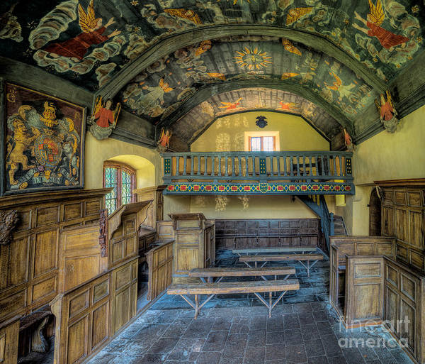 Holy Trinity Photograph - 17th Century Chapel by Adrian Evans