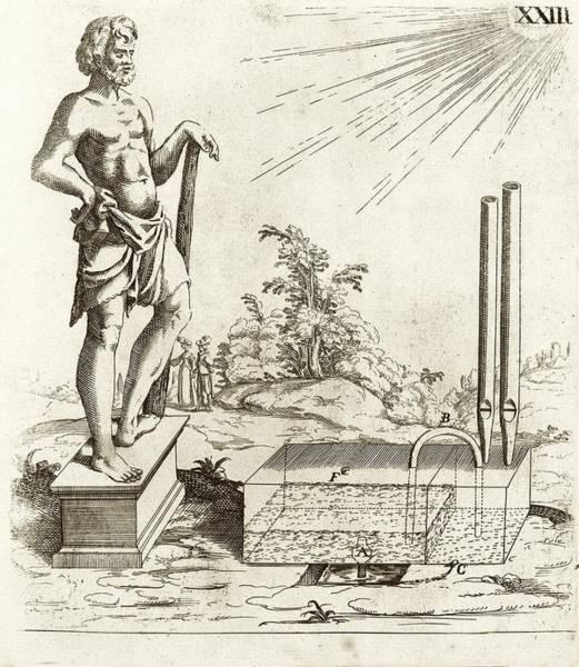17th Century Solar-powered Sound Machine Art Print by Stephen A. Schwarzman Building/rare Books Division/new York Public Library
