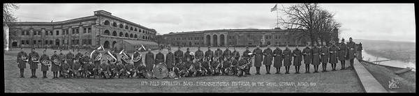 Wall Art - Photograph - 17th Field Artillery Band by Fred Schutz Collection