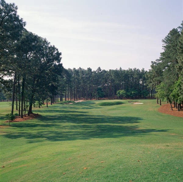 Wall Art - Photograph - 17th Hole At Golf Course, Pinehurst by Panoramic Images