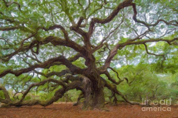 Digital Art - Southern Angel Oak  by Dale Powell