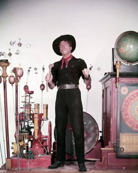 Lancaster Photograph - Burt Lancaster by Silver Screen