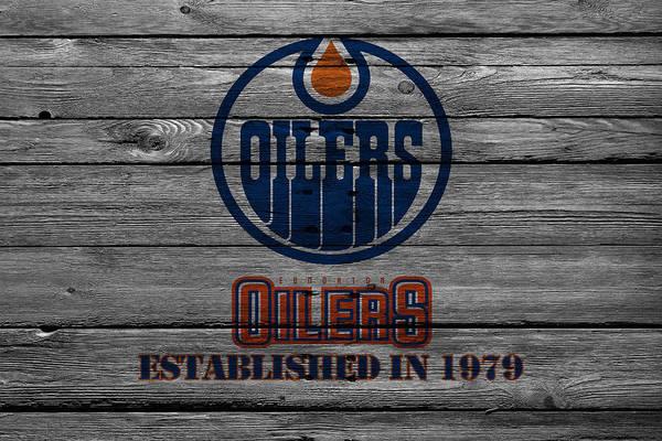 Wall Art - Photograph - Edmonton Oilers by Joe Hamilton