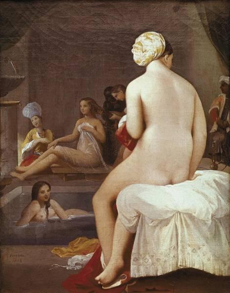 Ingres, Jean-auguste-dominique Art Print