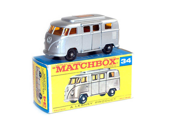 Photograph - Matchbox 1-75 by Gunter Nezhoda