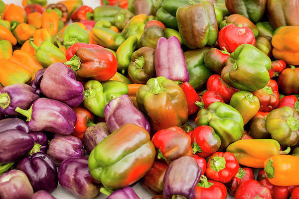 Bell Peppers Photograph - New York City, Ny, Usa by Julien Mcroberts