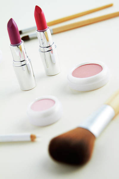 Make Up Photograph - Still Life Of Beauty Products by Stephen Smith