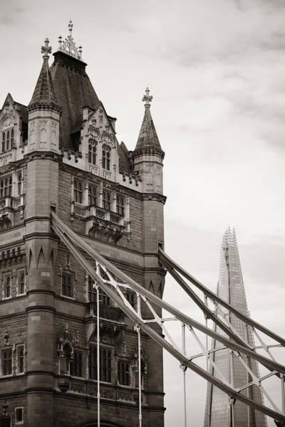Photograph - Tower Bridge London by Songquan Deng