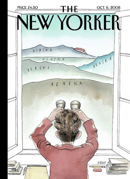 Obama Painting - New Yorker October 6th, 2008 by Barry Blitt