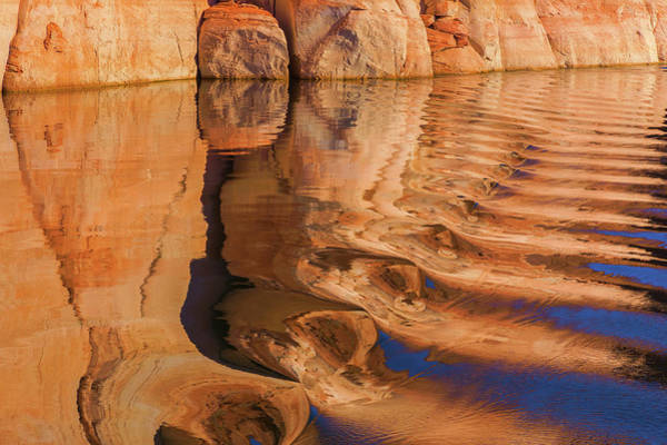 Desert Varnish Photograph - Usa, Utah, Glen Canyon National by Jaynes Gallery