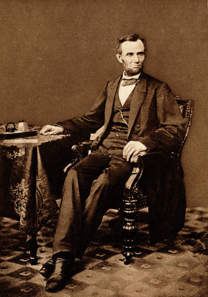 1863 Photograph - 1800s 1860s 1863 Portrait 16th by Vintage Images