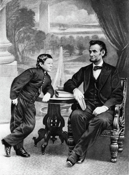 Honest Painting - 1800s 1860s President Abraham Lincoln by Vintage Images