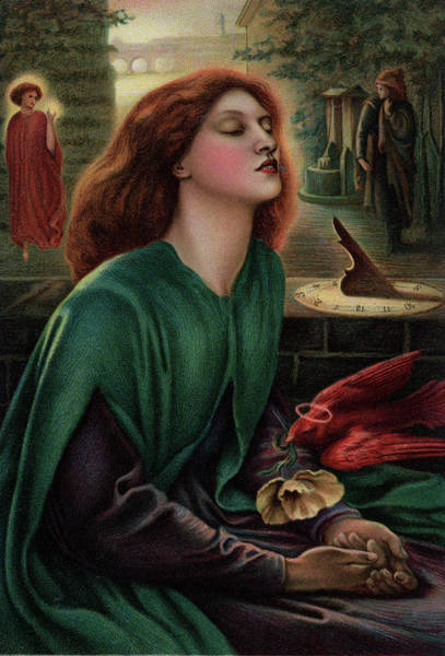 Gabriel Painting - 1800s 1870 Painting By Dante Gabriel by Vintage Images