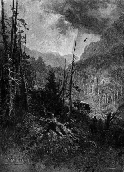 Bolton Wall Art - Painting - 1800s Bolton Pass Stagecoach Route by Vintage Images