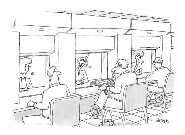 New Yorker October 4th, 2004 Art Print