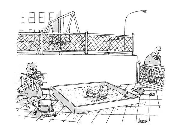 May 8th Drawing - New Yorker May 8th, 2000 by Jack Ziegler