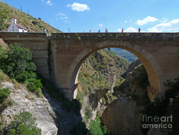 Photograph - 1859 Bridge - Tablate - Granada by Phil Banks