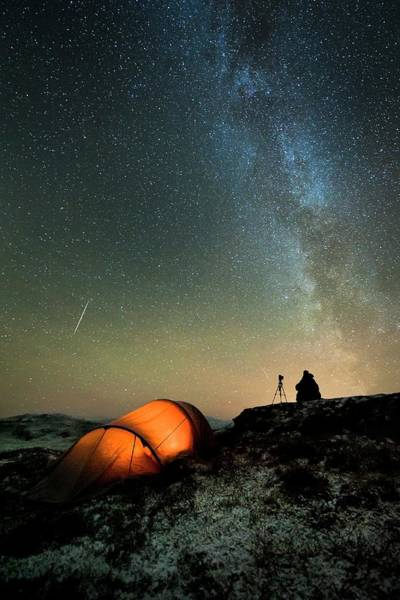 Camping Photograph - Aurora Borealis by Tommy Eliassen