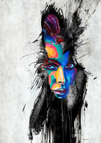 Painting - Facial Expressions by Rafael Salazar