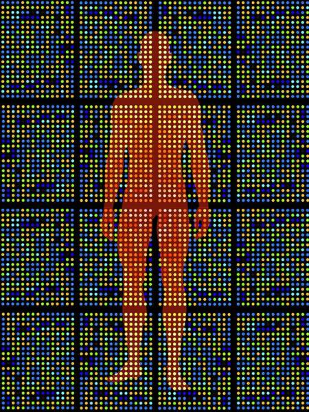Genetic Research Art Print