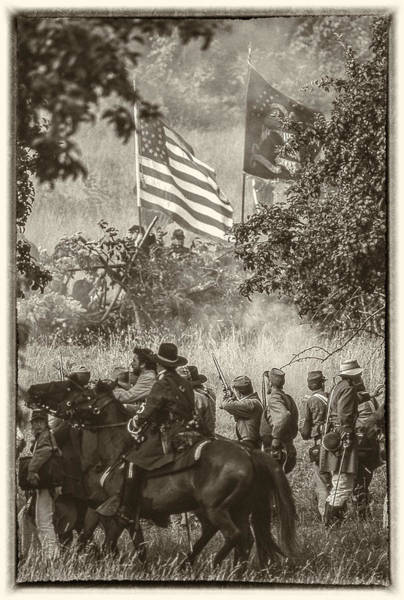 Battle Of The Atlantic Wall Art - Photograph - Gettysburg National Military Park by Richard Nowitz