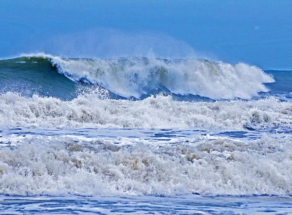 Wall Art - Photograph - Hurricane Storm Waves by Millard H. Sharp