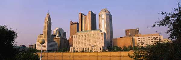 Scioto Photograph - Low Angle View Of Buildings In A City by Panoramic Images