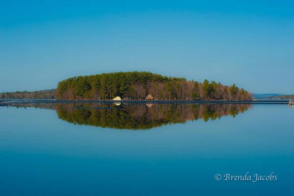 Photograph - 19 Mile Bay Lake Winnipesaukee by Brenda Jacobs