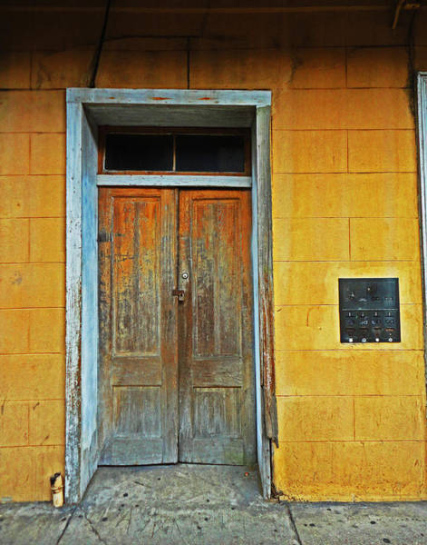 New Orleans Door Art Print