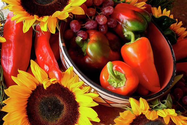 Bell Peppers Photograph - Santa Fe, New Mexico, United States by Julien Mcroberts