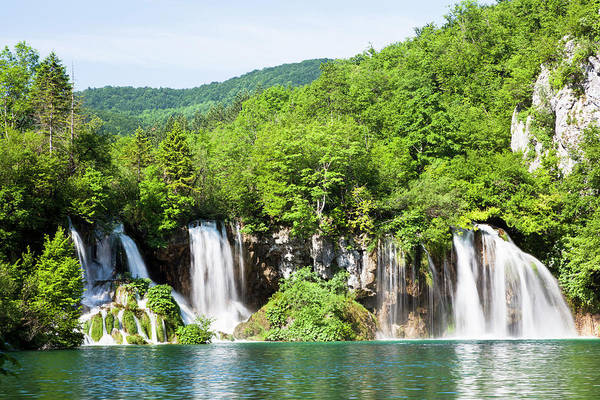 Wall Art - Photograph - The Plitvice Lakes In The National Park by Martin Zwick