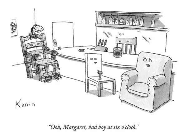 Furniture Drawing - Ooh Margaret by Zachary Kanin