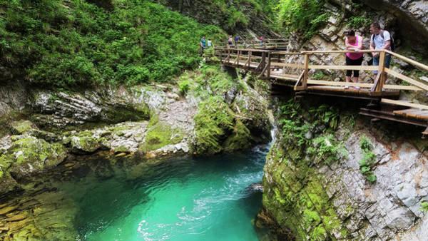 Wall Art - Photograph - Vintgar Gorge, Slovenia by Ken Welsh