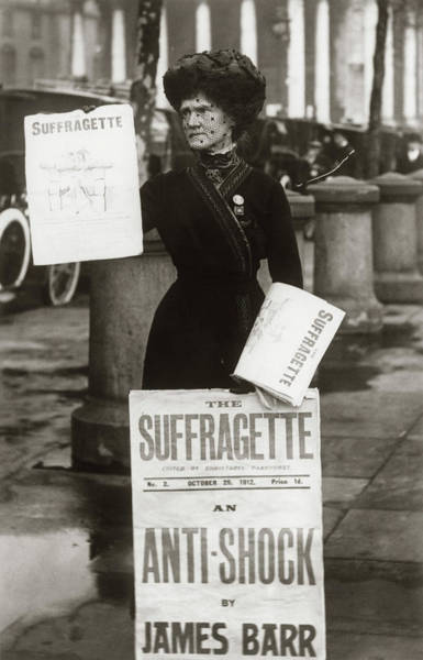 Equal Rights Wall Art - Photograph - 1900s British Suffragette Woman by Vintage Images
