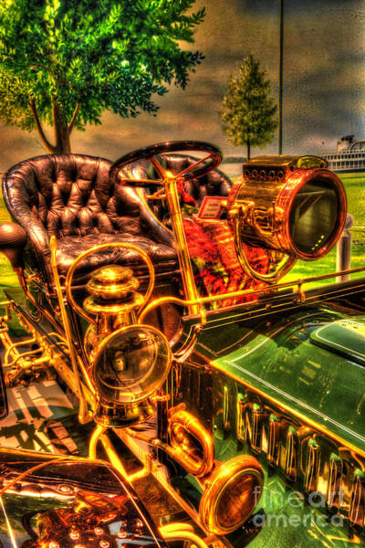 Photograph - 1905 Cadillac Runabout by Paul W Faust -  Impressions of Light